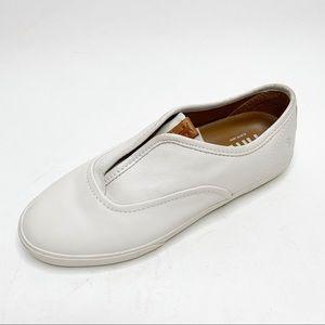 Frye Single shoe Maya White Sneaker size 6.5